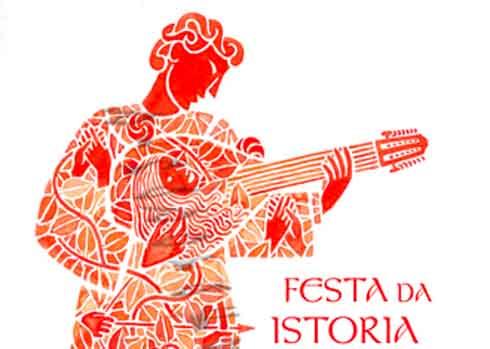 detalle de cartel Festa da Istoria 09