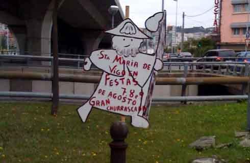 cartel de las fiestas