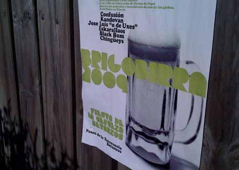 cartel Brigobirra 2009