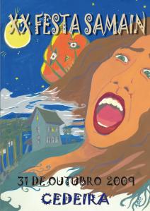 cartel Samaín 2009